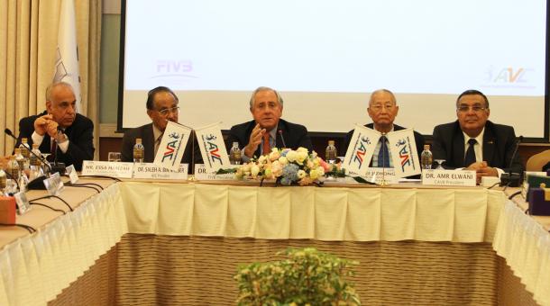 FIVB ประชุมรับรองสำนักงานสหพันธ์ลูกยางเอเชีย