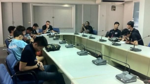 ทัพลูกยางชาย รายงานตัวทีมชาติ ซ้อมลุย 3 รายการ