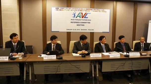 ประมวลภาพ การประชุมคณะกรรมาธิการฝ่ายต่างๆ ของสหพันธ์วอลเลย์บอลแห่งเอเชีย ณ กรุงเทพ ประเทศไทย