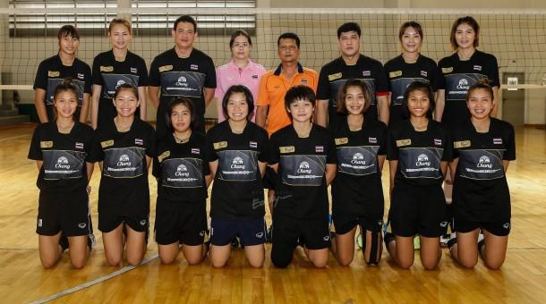 วอลเลย์บอลส่งทีมหญิงอายุไม่เกิน 23 ปี ร่วมแข่งขันชิงชนะเลิศแห่งเอเซีย