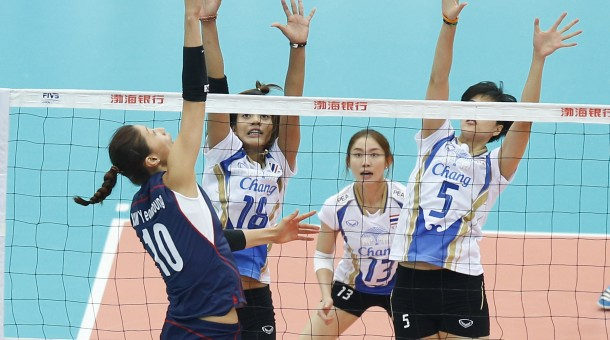 ไทย พ่าย เกาหลีใต้ 2-3 เซต,ชนญี่ปุ่นรอบ 8 ทีมศึกลูกยางเอเชีย