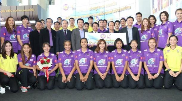 PEA มอบ 2 ล้าน อัดฉีดทัพลูกยางไทย