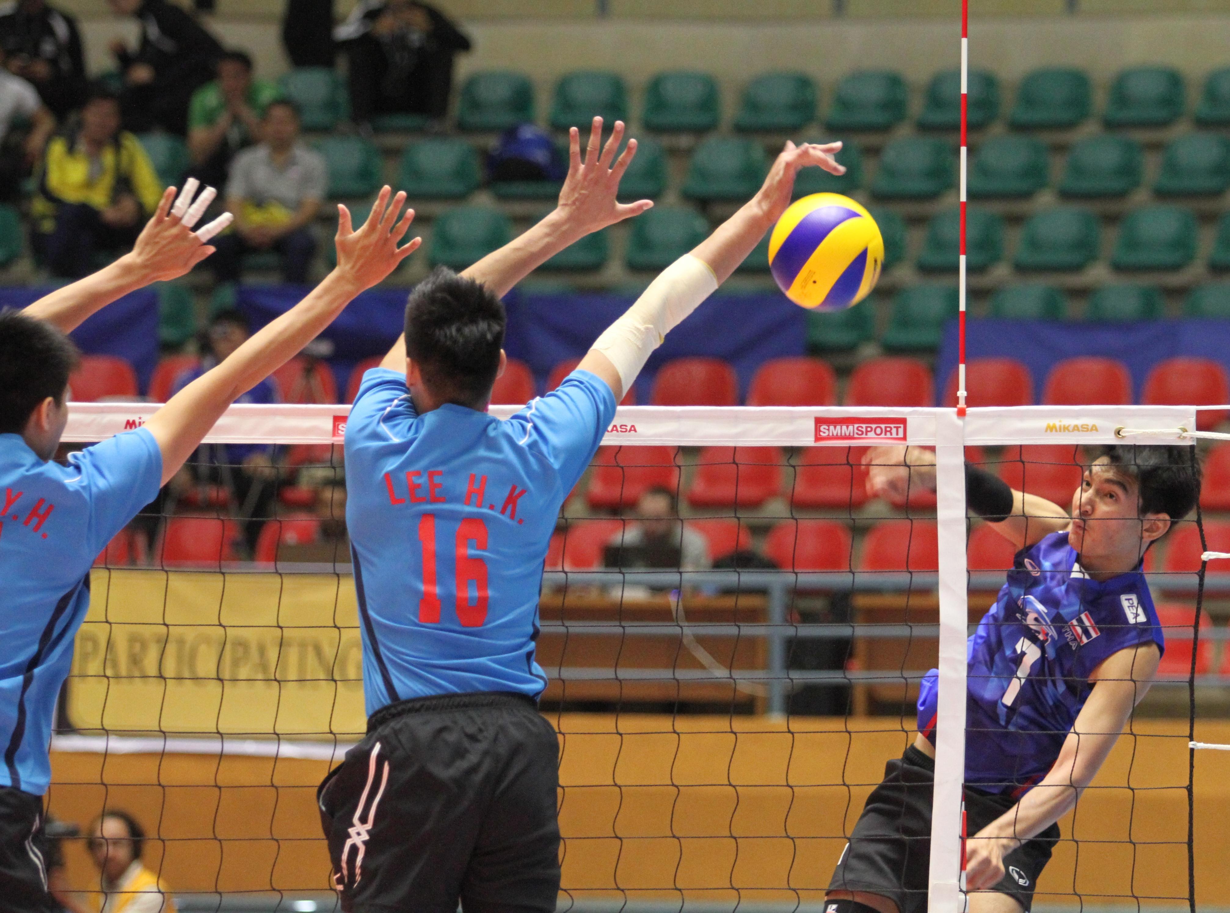 ไทย ชนะ ไต้หวัน 3-2 เซต ในการแข่งขันวอลเลย์บอลชายU-23 ชิงแชมป์เอเชีย –  ยินดีต้อนรับเข้าสู่เว็บไซต์สมาคมกีฬาวอลเลย์บอลแห่งประเทศไทย